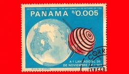 Nuovo - PANAMA - 1966 - Ricerche Nello Spazio - Giulio Verne - A-1 - 0.005 - Panama