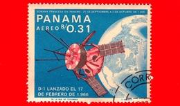 Nuovo - PANAMA - 1966 - Ricerche Nello Spazio - Giulio Verne - D-1 A - 0.31 - P. Aerea - Panama