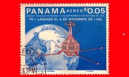 Nuovo - PANAMA - 1966 - Ricerche Nello Spazio - Giulio Verne - Fr-1 - 0.05 - P. Aerea - Panama