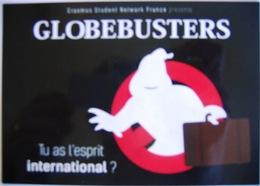 Publicité Erasmus Globusters Fantôme - Schools