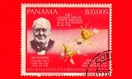 Nuovo - PANAMA - 1966 - Ricerche Nello Spazio - Winston Churchill - 0.005 - Panama