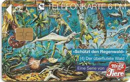 Germany - Ein Herz Für Tiere - Animals - O 1417 - 07.94, 6DM, 2.000ex, Used - Allemagne