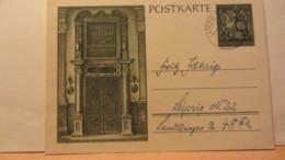 DR: GA  P 296 * Dt. Goldschmiedekunst 1943 Ritter Sankt Georgl Aus Leipzig Vom 13.11.43 - Gute Erhaltung - Briefe U. Dokumente