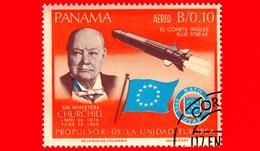 Nuovo - PANAMA - 1966 - Ricerche Nello Spazio - Winston Churchill - 0.10 - P. Aerea - Panama