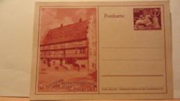 DR: GA  P 293 * Goldschmiedekunst Brautbecher Und Löwe Mit Bild Des Goldschmiedehauses Der Stadt Hanau A/M. Ungebraucht - Deutschland