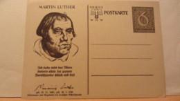 DR: GA  P 285 /02 * Martin Luther Winterhilfswerke 1939 Ungebraucht - Briefe U. Dokumente