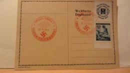 DR: Postkarte  Mit 60 H Böhmen Und Mähren Mit Rotem Geburtstagsstempel PRAG1-PRAHA1 Vom 20.4.41 Rotes Kreuz Zdr. - Briefe U. Dokumente