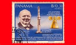 Nuovo - PANAMA - 1966 - Ricerche Nello Spazio - Winston Churchill - 0.31 - P. Aerea - Panama