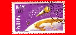 Nuovo - PANAMA - 1966 - Viaggi Nello Spazio - Contributo Italiano - Satellite San Marco - 0.21 - P. Aerea - Panama