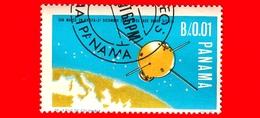 Nuovo - PANAMA - 1966 - Viaggi Nello Spazio - Contributo Italiano - Satellite San Marco - 0.01 - Panama