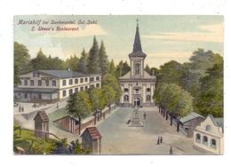 BÖHMEN & MÄHREN - ZUCKMANTEL / ZLATE HORY, Mariahilf,E.Weeze's Restaurant, Posthilfsstelle Mariahilf - Sudeten