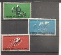 Italia - Serie Completa Nuova MNH **: Campionati Mondiali Di Ciclismo - 1962 * G - Ciclismo