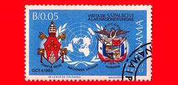 Nuovo - PANAMA - 1966 - Visita Di Papa Paolo VI All'ONU - 0.05 - P. Aerea - Panama