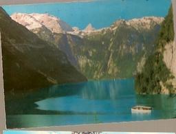 Germany & Circulated, Greetings From  Königssee Von Malerwinkel Berchtesgaden, Stains France 1970 (7794) - Souvenir De...