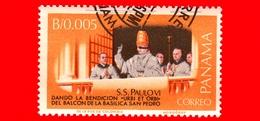 Nuovo - PANAMA - 1966 - Visita Di Papa Paolo VI All'ONU - Benedizione 'Urbi Et Orbi' - 0.005 - Panama