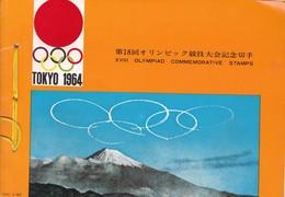 XVIII OLYMPIAD COMMMEMORATIVE STAMPS TOKYO 1964, SIZE 21x15cm - BLEUP - Summer 1964: Tokyo