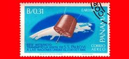 Nuovo - PANAMA - 1966 - Visita Di Papa Paolo VI All'ONU - Satellite Early Bird - 0.31 - P. Aerea - Panama
