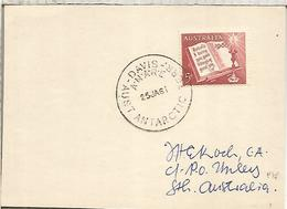 AUSTRALIA ANTARTIDA ANTARCTICA POLO SUR BASE DAVIS 1961  MS  ANNA BAKKE - Expediciones Antárticas
