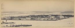 Commercy . Albumine Circa 1890 . Vue Panoramique Des Casernes Sous La Neige . - Photos