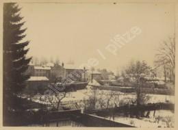 Commercy . Albumine Circa 1890 . Un Coin De La Ville Sous La Neige . - Photos