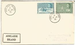 BRITISH ANTARCTIC TERRITORY 1970 MAT ADELAIDE ISLANDS ANTARTIDA - Estaciones Científicas