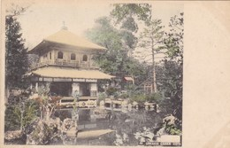 Asie - Ginkakuji - Garden - Kioto - Postcards