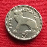 Ireland 3 Pence 1928 KM# 4  Irlanda Irlande Ierland Eire - Irlande