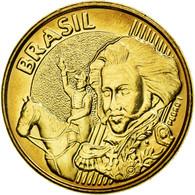 Monnaie, Brésil, 10 Centavos, 2008, SPL, Bronze Plated Steel, KM:649.2 - Brésil