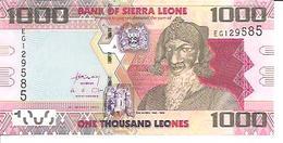 Sierra Leone  1000 Leones  2013 UNC - Sierra Leone