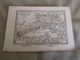 Carte La Phocide,La Doride Et Les Pays Des Locriens Par J.D.Barbié Du Bocage 1787 - Carte Geographique