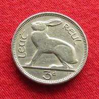 Ireland 3 Pence 1956 KM# 12a  Irlanda Irlande Ierland Eire - Irlande