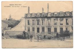 54 - Guerre 1914-1915 - BACCARAT - Rue Des Ponts - Le Château - état - Baccarat