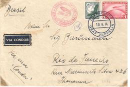 Zeppelin A Rio De Janeiro - Allemagne