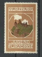 GERMANY Ca 1915 Reklamemarke Würzburg Jugendfürsorge Advertising Poster Stamp * - Erinnofilie