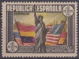 ESPAÑA 1938 Nº 763 CHARNELA - 1931-Aujourd'hui: II. République - ....Juan Carlos I