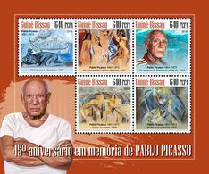 GUINEA BISSAU 2018 - Pablo Picasso. Official Issue - Picasso