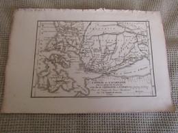 Carte L`Étolie Et L`Acarnanie Avec La Presqu`ile De Leucade Et Les Iles Céphallenie Et D`Ithaque 1798 - Carte Geographique