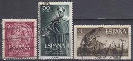ESPAÑA 1953 Nº 1126/28 USADO - 1931-Hoy: 2ª República - ... Juan Carlos I
