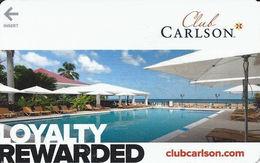 Club Carlson Hotel Room Key Card - Hotel Keycards