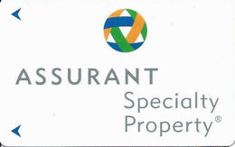 Assurant Specialty Property Advertising Hotel Room Key Card - Hotel Keycards