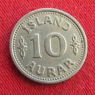 Iceland  10 Aurar 1940 KM# 1.2  Islandia Islande Island Ijsland - Islande