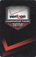 Verizon Championship Racing - Hotel Room Key Card - Hotel Keycards