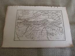 Carte La Corinthie,La Sicyonie,La Phliasie Et L`Achaie Par J.D.Barbié Du Bocage 1786 - Carte Geographique