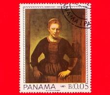 PANAMA - Nuovo - 1967 - Giovane Donna Sulla Porta, Dipinto Di Rembrandt (1606-1669) - 0.05 - Panama