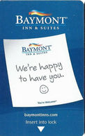 Baymont Inn & Suites - Hotel Room Key Card - Hotel Keycards