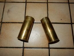 Lot Douille De37 Mm  Armée Francaise 14/18 - Decorative Weapons
