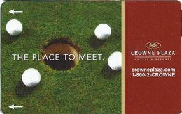Crowne Plaza Hotel Room Key Card - Hotel Keycards