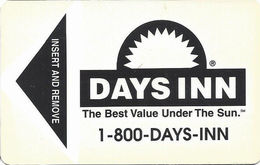 Days Inn Hotel Room Key Card - Hotel Keycards