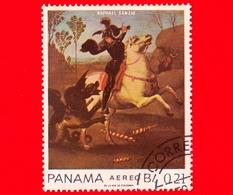 PANAMA - Nuovo - 1967 - San Giorgio E Il Drago, Dipinto Di Raffaello Sanzio - 0.21 - P. Aerea - Panama