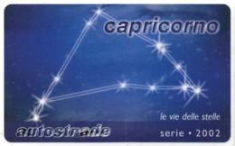 *ITALIA - VIACARD: CAPRICORNO* -  Scheda Usata - Zodiaco